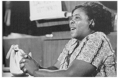 Photograph of Fannie Lou Hamer